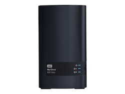 "WD My Cloud EX2 Ultra WDBVBZ0080JCH 3.5"" 2Moduler 4TB"