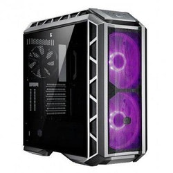 Cooler Master MasterCase H500P Mesh - Miditower - utökad ATX - inget nätaggregat (ATX / PS/2) - gun metal