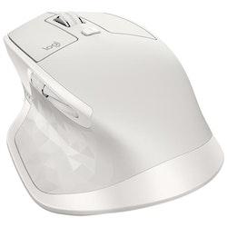 Logitech MX Master 2S - trådlös - ljusgrå