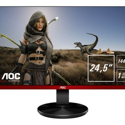 """AOC G2590FX 24.5"""" 1920 x 1080 VGA (HD-15) HDMI DisplayPort 144Hz"""