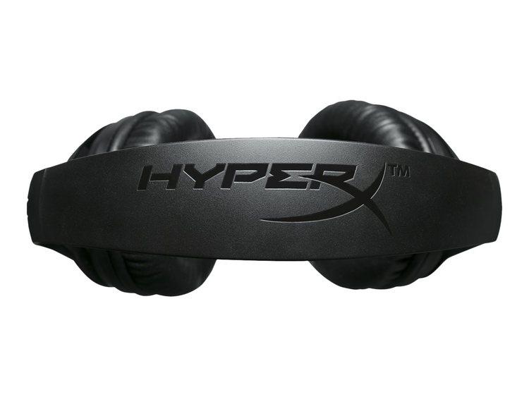 HyperX Cloud Flight - Headset - fullstorlek - 2,4 GHz - trådlös