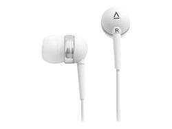 Creative EP-630 - Hörlurar - inuti örat - kabelansluten - 3,5 mm kontakt - vit