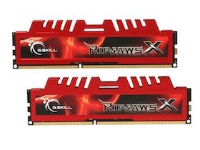 G.Skill Ripjaws-X DDR3 16GB kit 1600MHz CL10