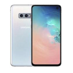 "Samsung Galaxy S10e 5.8"" 128GB 4G - vit prisma"