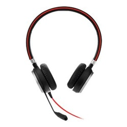Jabra Evolve 40 MS stereo - Headset -  kabelansluten svart