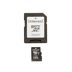 Intenso MICRO Secure Digital Card Micro SD Class 10 UHS-I, 128 GB