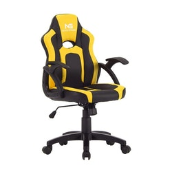 Nordic Gaming Little Warrior Gamer Stol Black Yellow