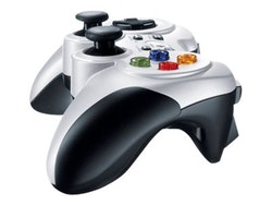 Logitech Wireless Gamepad F710 Vit Svart