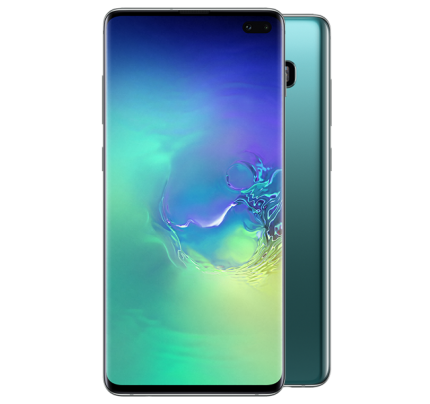 "Samsung Galaxy S10 Plus 6.4"" 128GB - prismagrön"