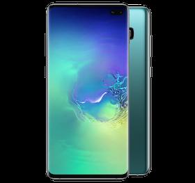 """Samsung Galaxy S10 Plus 6.4"""" 128GB - prismagrön"""