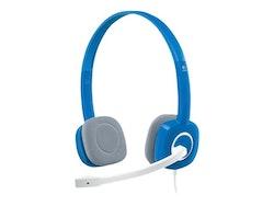 Logitech Stereo Headset H150 Kabling Blå