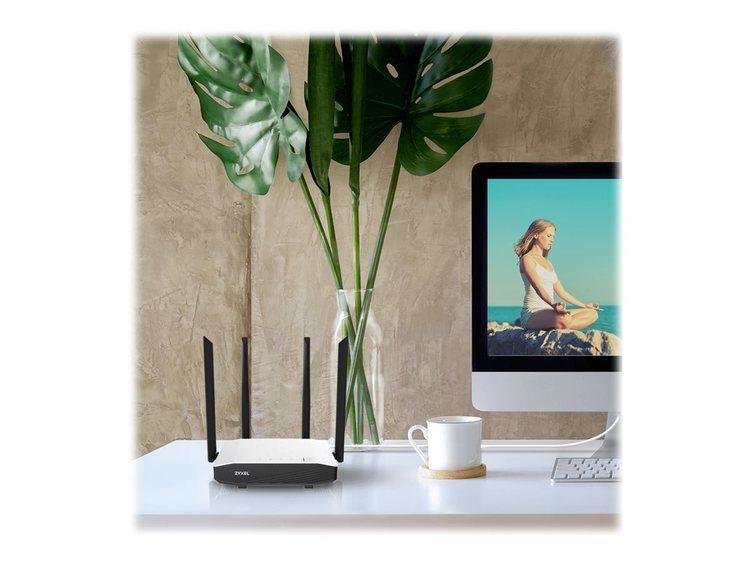 Zyxel NBG6615 867Mbps 4-port switch