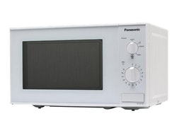 Panasonic NN-E201W - Mikrovågsugn - fristående - 20 liter - 800 W - vit