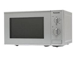 Panasonic NN-E221M - Mikrovågsugn - fristående - 20 liter - 800 W - silver