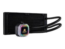 CORSAIR Hydro Series H100i RGB Platinum - Kylsystem med vätska till processorn
