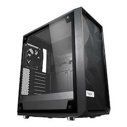 Fractal Design Meshify C - TG - Miditower - ATX - inget nätaggregat (ATX) - svart