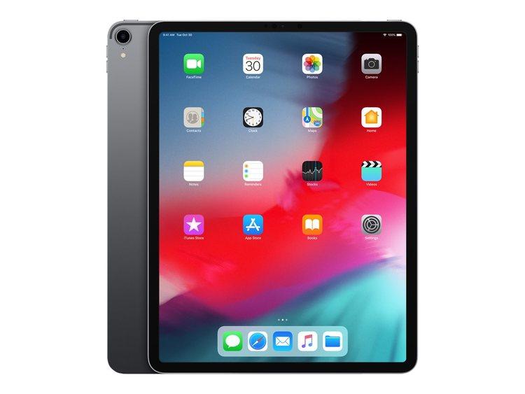 """Apple iPad Pro Wi-Fi Cellular 12.9"""" 64GB Apple iOS 12 - rymdgrå"""