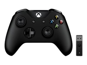 Microsoft Xbox Controller Wireless Adapter for Windows 10 Svart