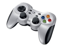 Logitech Wireless Gamepad F710 vit svart