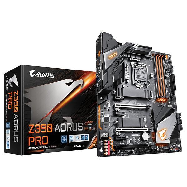 GIGABYTE Z390 AORUS PRO Moderkort - Intel Z390 - Intel LGA1151 socket - DDR4 RAM - ATX