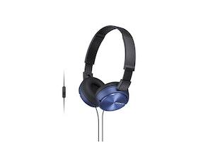 Sony MDR ZX310APL Kabling Blå Svart