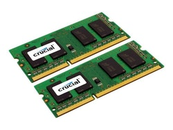 Crucial DDR3L 16GB kit 1600MHz CL11 SO-DIMM 204-PIN