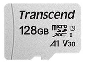 Transcend 300S microSDXC 128GB A1 / Video Class V30 / UHS-I U3