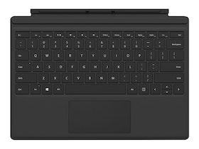 Microsoft Surface Pro Type Cover (M1725) - Tangentbord - Danska/finska/norska/svenska - svart