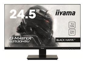 "iiyama G-MASTER Black Hawk G2530HSU-B1 24.5"" 1920 x 1080 VGA (HD-15) HDMI DisplayPort 75Hz"