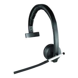 Logitech Wireless Headset Mono H820e Trådlös Svart