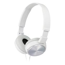 Sony MDR-ZX310AP Hörlurar On-ear Headset, Hopfällbara Vit