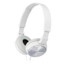 Sony MDR-ZX310AP Hörlurar On-ear Headset, Hopfällbara Vit