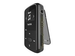 SanDisk Clip Jam - Digital spelare - 8 GB - svart