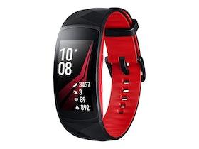Samsung Gear Fit2 Pro röd