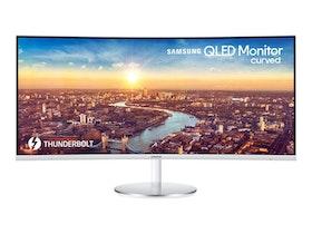 """Samsung CJ79 Series C34J791WTU 34"""" 3440 x 1440 HDMI DisplayPort Thunderbolt 3 100Hz"""