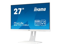 "iiyama ProLite B2791HSU-W1 27"" 1920 x 1080 VGA (HD-15) HDMI DisplayPort 75Hz Pivot Skærm"