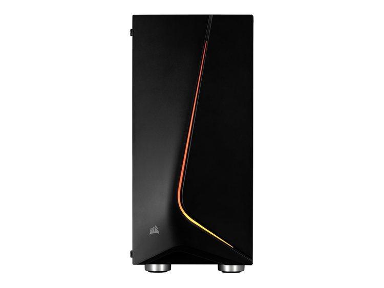 CORSAIR Carbide Series SPEC-06 RGB - Miditower - ATX - inget nätaggregat (ATX) - svart