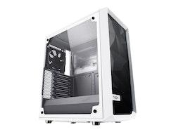 Fractal Design Meshify C White - TG - Miditower - ATX - inget nätaggregat (ATX) - vit