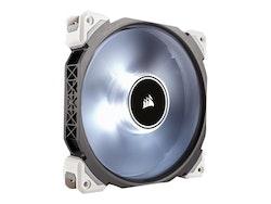 CORSAIR ML Series ML140 PRO LED Premium Magnetic Levitation - Lådfläkt - 140 mm - vit