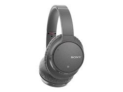 Sony WH-CH700N - Hörlurar med mikrofon - grå