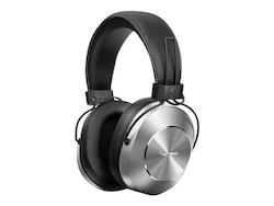Pioneer SE-MS7BT - Style Series - hörlurar med mikrofon - Trådlös - silver