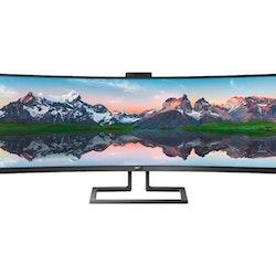 """Philips Brilliance P-line 499P9H 49"""" 5120 x 1440 HDMI DisplayPort 60Hz"""