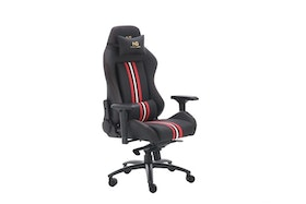 Nordic Gaming Gold Premium Gaming Chair Black w/ Stripes