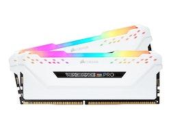 CORSAIR VENGEANCE RGB PRO Light Enhancement Kit - Kylfläns till RGB-minne - vit