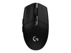 Logitech G305 - optisk - trådlös - LIGHTSPEED - svart