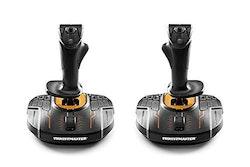 ThrustMaster T.16000M FCS Space Sim Duo Orange Svart