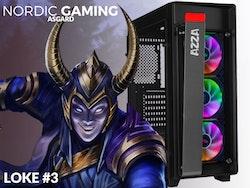 Nordic Gaming Asgard Loke# 3 i5-9600K 16GB 240GB RTX 2060 W10