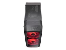 Cooler Master MasterCase H500 Miditower ATX - järngrå
