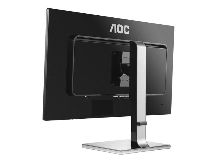 """AOC Pro-line U2777PQU 27"""" 3840 x 2160 DVI VGA (HD-15) DisplayPort HDMI(MHL) 60Hz Pivot Skärm"""