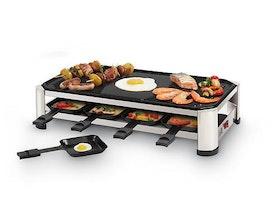 FRITEL RG 2170 - Raclette/grill - 1500 W - rostfri stålkrom/svart